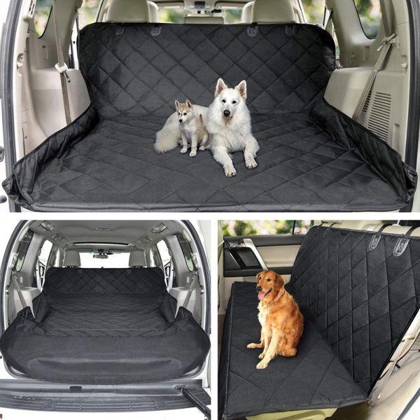 Автогамак для перевозки собак в багажнике варианты