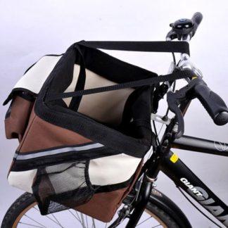 Корзина для собак на велосипед