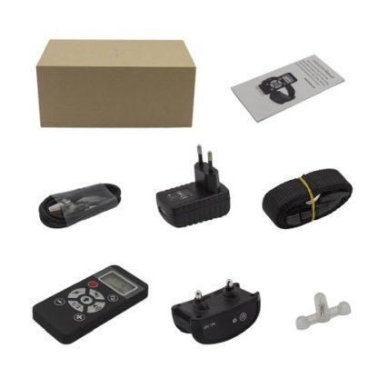 Электронный ошейник для дрессировки с функцией антилая B180 комплектация
