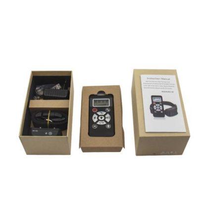 Электронный ошейник для дрессировки с функцией антилая B180 упаковка