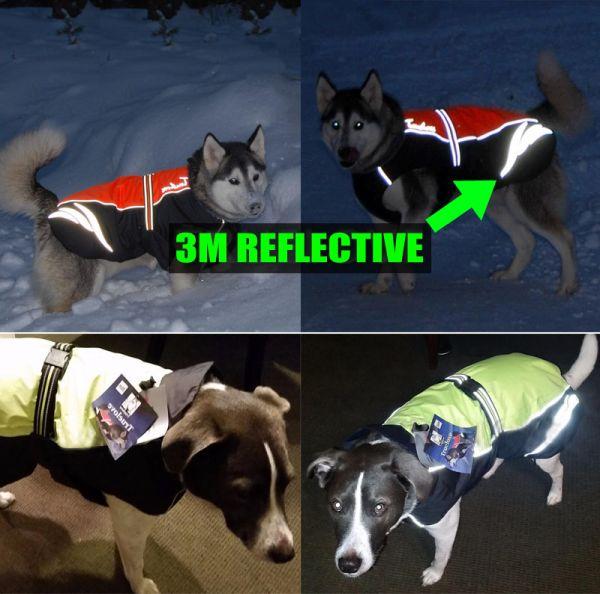 Водонепроницаемый жилет для собак светоотражающий