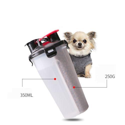 Походная бутылка для корма и воды для собаки размеры отсеков