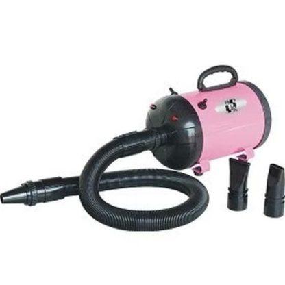 Фен компрессор для сушки собак розовый