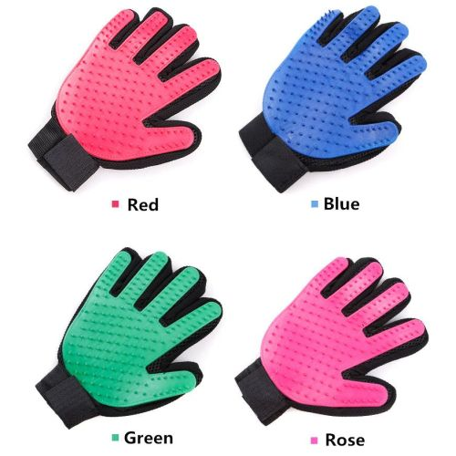 Силиконовые перчатки для ухода за собаками