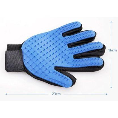Силиконовая перчатка для груминга и мойки собак размеры