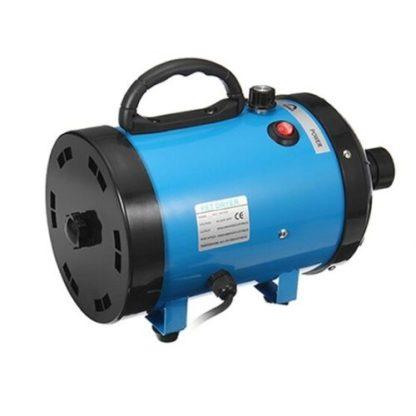 Фен компрессор для сушки собак голубой