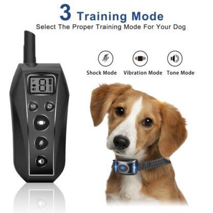 Ошейник для дрессировки собак с пультом T700 дальность 600 метров