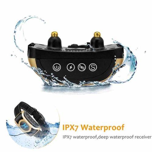 Электронный ошейник антилай B400 защита от воды