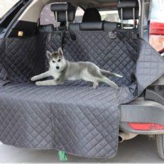 Автогамак в багажник с высокими бортами для перевозки собак