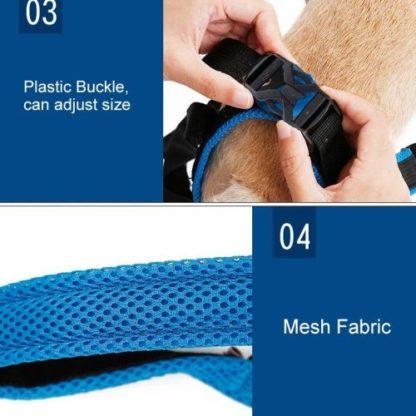 Ходунки поддержка задних лап для собак установка шаг 2