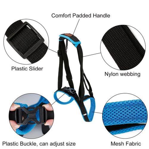 Ходунки поддержка задних лап для собак установка шаг 4