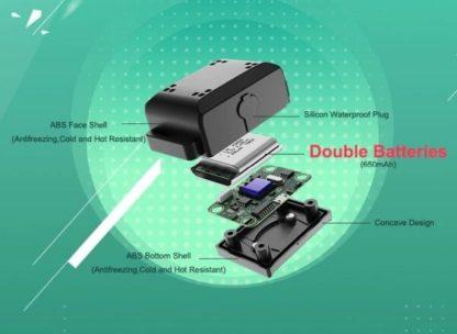 Ошейник для дрессировки собак электронный с антилаем T720 двойной аккумулятор