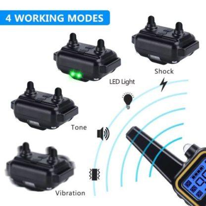 Дрессировочный ошейник для собак T430 режимы работы