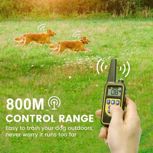 Дрессировочный ошейник для собак T430 дальность 800 метров