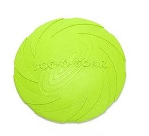 Летающая тарелка для собак Dog-soar Зеленая