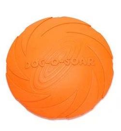 Летающая тарелка для собак Dog-soar оранжевая