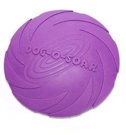 Летающая тарелка для собак Dog-soar пурпурная