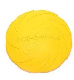 Летающая тарелка для собак Dog-soar желтая