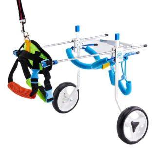 Инвалидная коляска для собак регулируемая для любых собак