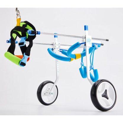 Инвалидная коляска для собак регулируемая вид 3