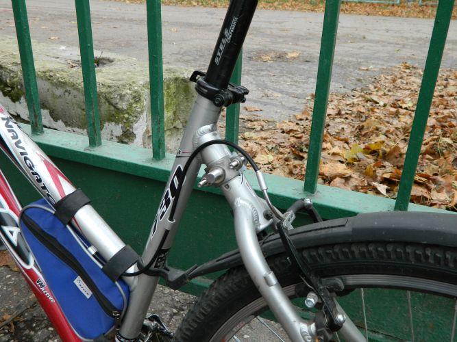 Велоспрингер способ крепления