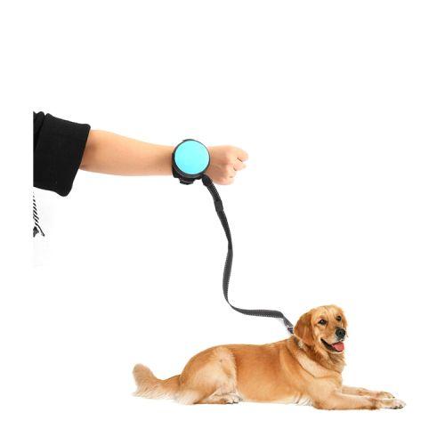 Рулетка для собак на запястье для бега и прогулок