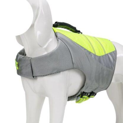 спасательный жилет для собак зеленый полный