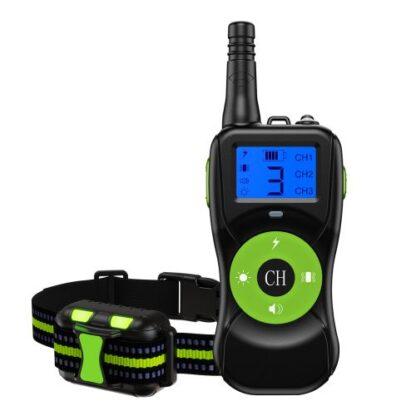 Электроошейник для собак T502 зеленый