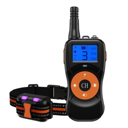 Электроошейник для собак T502 оранжевый