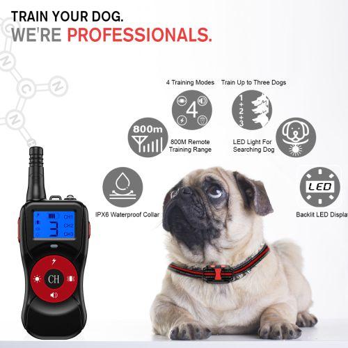 Электроошейник для собак T502 улучшенный прием
